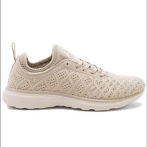 APL techloom parchment sneakers